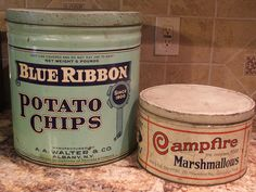 Old tins by lilruby, via Flickr