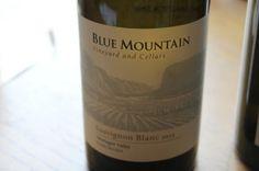 Sophie Collins, Pinot Blanc, Wine Wednesday, Sauvignon Blanc, Blue Mountain, White Wine, Vineyard, Bottle, Vine Yard