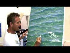 Painting waves – perspective in whitewash - Best Painting Acrylic 2019 Acrylic Painting Techniques, Painting Videos, Watercolor Techniques, Art Techniques, Watercolor Tips, Watercolor Painting, Ocean Waves, Water Waves, Pictures To Paint