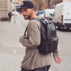 http://chicerman.com  billy-george:  Looking back  #streetstyleformen