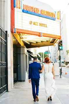 After Being Together For A Decade, This Is How You Tie The Knot    Ceremony & Reception Venue: Ace Hotel DTLA, Rooftop & Segovia Hall.