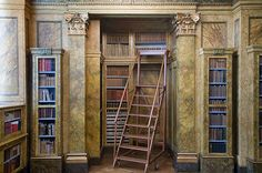 books n buildings - From the Liechtenstein Palace library, Vienna +