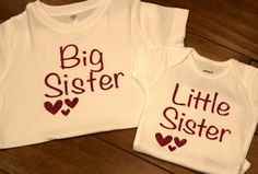 Big Sister Shirt, Little Sister Shirt, Sisters Shirt, Big Sister Heart, Big Sister, Little Sister Heart, Little Sister, Sister Glitter Shirt by PurpleAspen on Etsy Big Sister Big Brother Shirts, Big Sister Little Sister, Little Sisters, T Shirts For Women, Trending Outfits, Clothes, Outfits, Clothing, Kleding