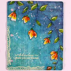 Limor Webber Designs DT Blog: Journal Layout with Izink inks by Vicky Papaioannou; Aug 2015