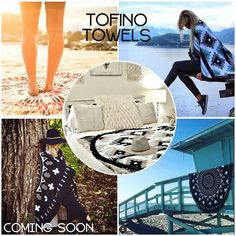We are excited to be carrying Tofino Towels... coming soon to Modern Sole!  Retail for $99 - BC company! Can take pre-orders!