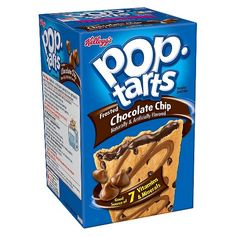 Kellogg's® Pop-Tarts® Frosted Chocolate Chip Pastries - 8ct : Target