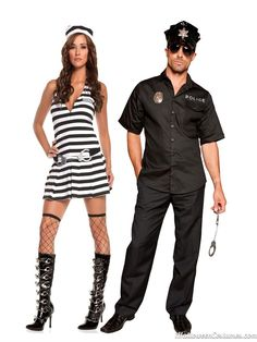 police inmate couples costume - Halloween Costumes 2013