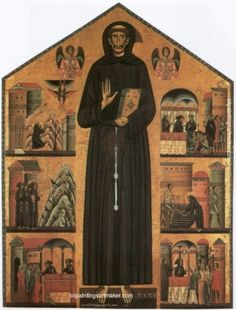 Bonaventura Berlinghieri Saint Francis of Assisi painting outlet for sale, painting Authorized official website