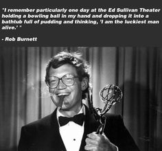 Great #Quote about David Letterman from producer Rob Burnett