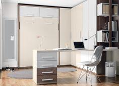 #dormitorio juvenil Niko de Kibuc. Adaptable a espacios muy pequeños