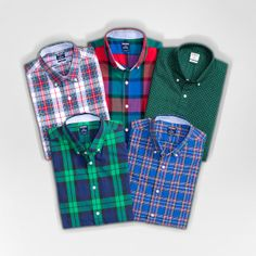 Plaid tidings. #mensfashion #giftideas