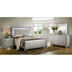 Best Quality Furniture Panel 4 Piece Bedroom Set | Wayfair