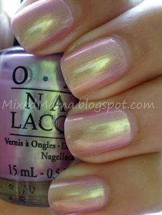 iridescent nail polish Sophia Bierman via Marra Boulanger onto You can tell alot about a girl by the color of her nails. Opi Nail Polish, Opi Nails, Nail Polish Colors, Nail Polishes, Clear Nail Polish, Cute Nails, Pretty Nails, Iridescent Nail Polish, Nailed It