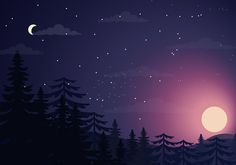 Night with Sun & Moon Pc Desktop Wallpaper, Aesthetic Desktop Wallpaper, Graphic Wallpaper, Computer Wallpaper, Cute Wallpapers, Wallpaper Backgrounds, Vintage Desktop Wallpapers, Pixel Art Background, Steven Universe Wallpaper