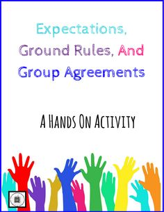 A great way to get students involved in setting expectations, ground rules, and group agreements!