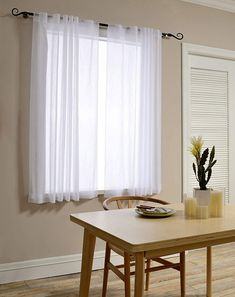 Sheer Curtain Panels – Ease Bedding with Style White Linen Curtains, Orange Curtains, Grommet Curtains, Drapes Curtains, Short Curtains Bedroom, Rustic Curtains, Voile Panels, Sheer Curtain Panels, Custom Made Curtains