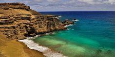 Papakolea beach, a maravilhosa praia verde do Havaí