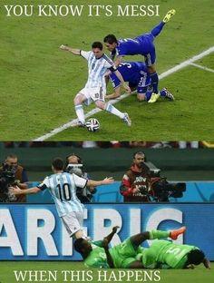 Messi is amazing!