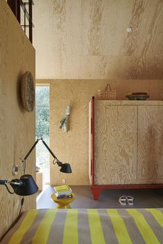 Plywood House, Plywood Interior, Space Furniture, Architecture, Eames, Interior And Exterior, Tiny House, Life Is Good, House Plans