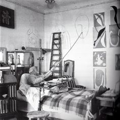 Left Bank Art Blog: Matisse's Cut-Outs as Environments