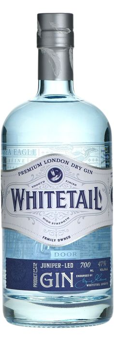 Whitetail Gin using botanicals native to Mull and water sourced from Tiroran's private spring to create the finest and smoothest London Dry Gin Wine Design, Bottle Design, Label Design, Graphic Design, Bottle Packaging, Soap Packaging, O Gin, Juniperus Communis, Gin Brands