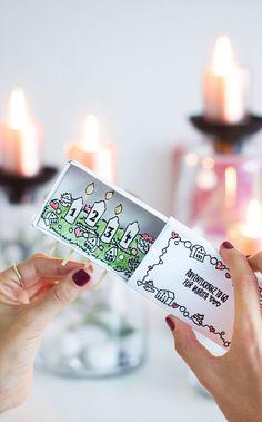 DIY Adventskranz, Adventskranz selber machen, Adventskranz basteln, Weihnachtsdeko, Ideen Weihnachten, Kranz DIY, Streichholzschachtel basteln, Adventskalender, Geschenkidee Weihnachten, Mitbringsel, Geschenk verpacken, Gastgeschenk, Weihnachtsdeko, Weihnachtsdekoration
