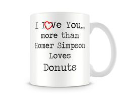 Printed Ceramic Mug I Love You More Than I Love Chocolate Ideal Cheap Gift Hot Chocolate With Cream, I Love Chocolate, Cute Valentines Day Gifts, Valentines Mugs, Love You More Than, I Love You, My Love, Leaving Gifts, Cheap Gifts