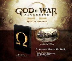 God of War : Ascension - édition spéciale [version française intégrale]