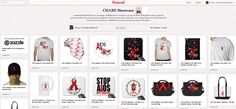 CHARE Showcase featuring a special selection of HIV/AIDS awareness gift and promotional items discovered online. Aids Awareness, Hiv Aids, Facebook Business, Social Media Channels, Business Pages, Cherry, Gift, Prunus, Gifts