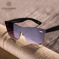 COLOSSEIN Square Sunglasses Women Fashion Men brand designer Oculos Glasses  Sunglass Oculos De Sol Feminina Masculino Sun Glasse 1e0a0f1bb3