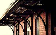Train Station in Medicine Hat. A photo set of this historic Canadian Pacific station.