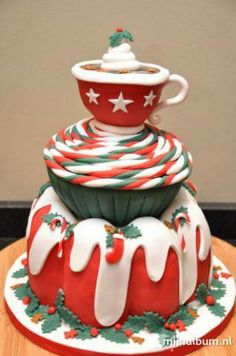 Christmas deelish! Cakelicious Fun!  ❥|Mz. Manerz: Being well dressed is a beautiful form of confidence, happiness & politeness