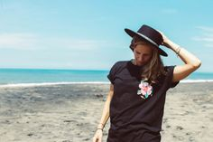 ZEALOUS Tropical Pocket Tshirt // surf inspired streetwear made in Bali #MadeInBali #surfstyle #fw16