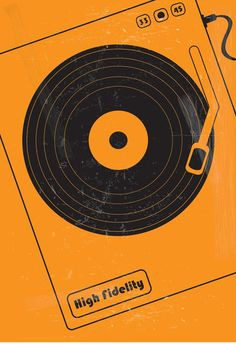 High Fidelity (2000) ~ Minimal Movie Poster by Masse Hjeltman #amusementphile