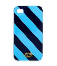 Repp Stripe iPhone 4 Hard Case - JackSpade $27