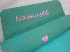 Namaste Yogamatte http://www.herzteil.de/shop/yoga-herzteil/63/namaste?c=7 #yoga #yogalifestyle #yogamatten