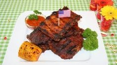 Vařte S Majklem - YouTube Grilled Steak Recipes, Grilling Recipes, Bbq Ribs, Barbecue, Kfc, Tandoori Chicken, Louisiana, Beef, Dishes