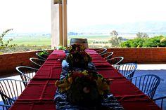 Montaje especial para comida en Terraza Restaurante Hacienda Guadalupe