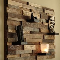 Wooden Wall Art reclaimed wood wall art 37x24x5 large artcarpentercraig