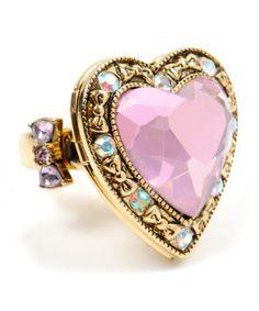 betsy johnson ring<3