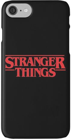 Stranger Things iPhone Case merchandise, fan-based. • Also buy this artwork on phone cases, apparel, stickers, and more. #merchandise #case #iphone #strangerthings [affiliate-link]