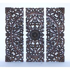 One Allium Way 3 Piece Panel Wall Décor Set & Reviews | Wayfair
