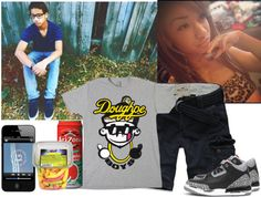 """""""Park w/ my Bae[Jayshaun]"""" by omgitsstar26 ❤ liked on Polyvore"""