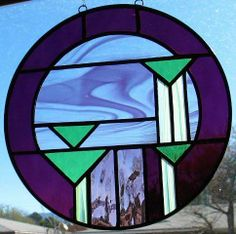 96979f32133a NEW colorful stained glass by Gary  amp  Linda Peterson