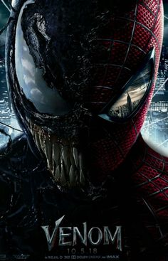— Venom movie poster Follow us for more