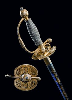 Gentleman's court sword... still effective in a back street, if a villain is after your purse...