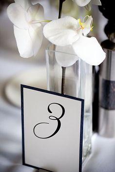 elegant table number. http://anouschkarokebrand.com/