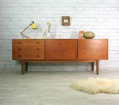 McINTOSH RETRO VINTAGE TEAK MID CENTURY DANISH STYLE SIDEBOARD EAMES ERA 50s 60s   eBay