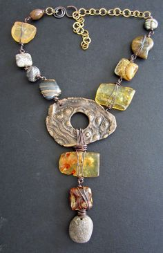 I SO LOVE THIS!   Last Show of the Year by Staci Louise Smith found on Love my Art Jewelry blog