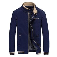 Men Casual Jackets Mens Fashion Brand Clothing